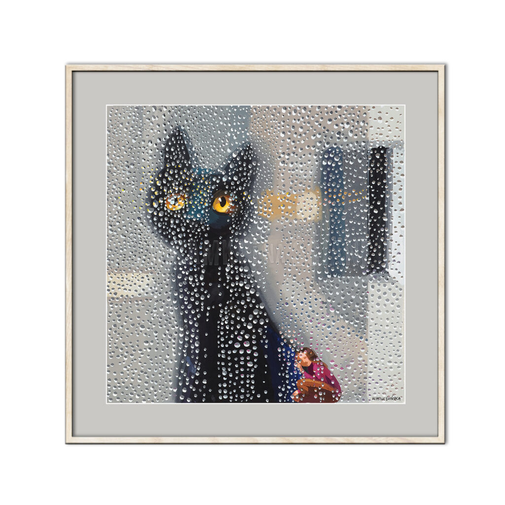 Deszczowy kot